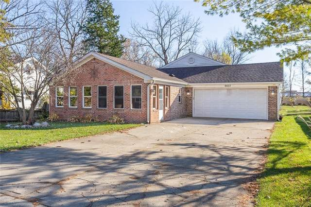 9037 E 12TH Street, Indianapolis, IN 46229 (MLS #21752902) :: The ORR Home Selling Team