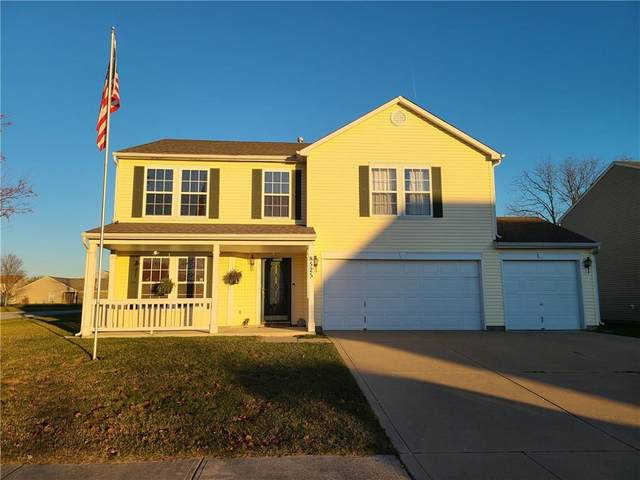8525 Belle Union Court, Camby, IN 46113 (MLS #21752909) :: The ORR Home Selling Team