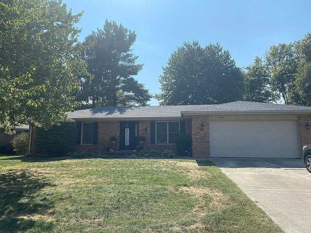 3344 Flintwood Drive, Columbus, IN 47203 (MLS #21753127) :: The ORR Home Selling Team