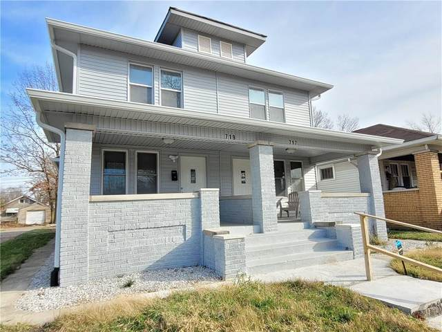 719 N Grant Avenue, Indianapolis, IN 46201 (MLS #21753132) :: The Evelo Team
