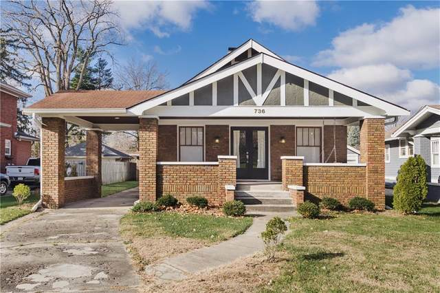736 N Arlington Avenue, Indianapolis, IN 46219 (MLS #21754178) :: AR/haus Group Realty