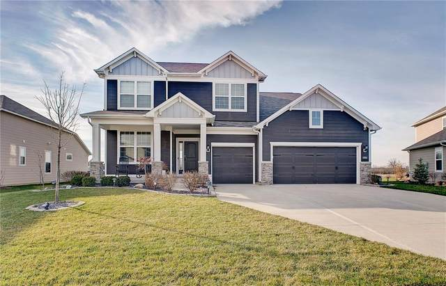 12560 Amber Star Drive, Noblesville, IN 46060 (MLS #21754216) :: The ORR Home Selling Team