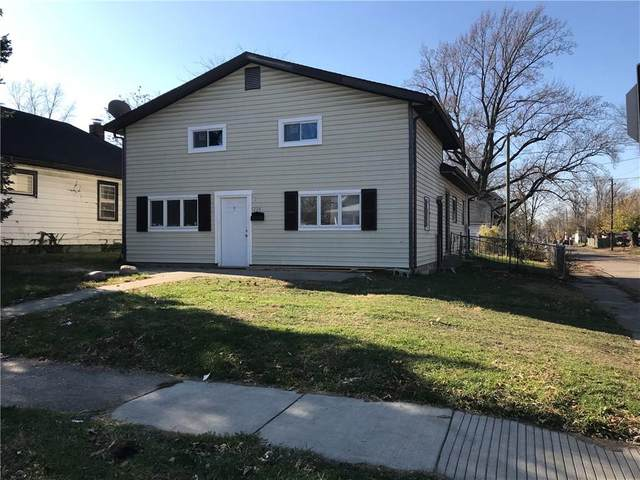 1234 N Ewing Street, Indianapolis, IN 46201 (MLS #21754218) :: The ORR Home Selling Team