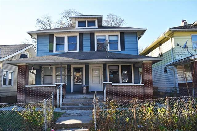 114 N Euclid Avenue, Indianapolis, IN 46201 (MLS #21754227) :: Anthony Robinson & AMR Real Estate Group LLC