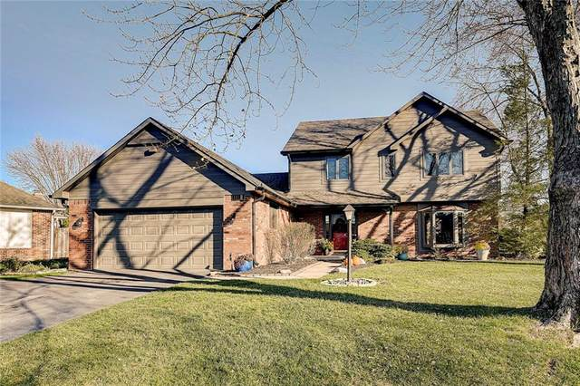 8011 Bayview Point, Indianapolis, IN 46256 (MLS #21754273) :: Ferris Property Group