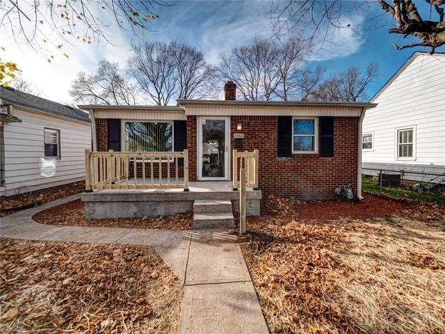 5062 Evanston Avenue, Indianapolis, IN 46205 (MLS #21754325) :: The Evelo Team