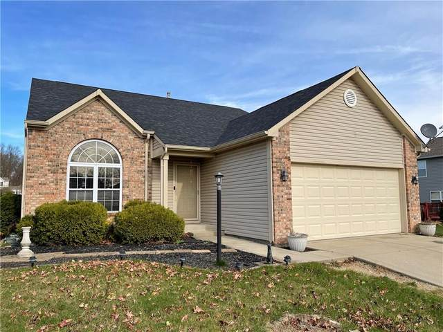 8738 Trumpeter Drive, Indianapolis, IN 46234 (MLS #21754341) :: The ORR Home Selling Team