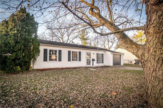 5419 W 35th Street, Indianapolis, IN 46224 (MLS #21754349) :: The ORR Home Selling Team