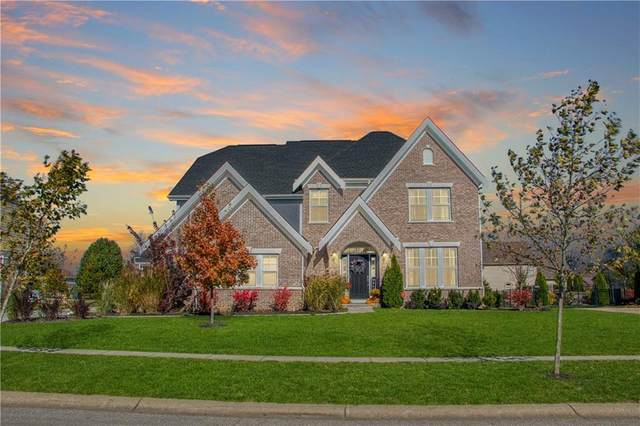 1114 Clearwell Drive, Greenwood, IN 46143 (MLS #21754375) :: The ORR Home Selling Team