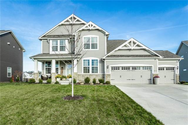 15662 Bellevue Circle, Fishers, IN 46037 (MLS #21754379) :: AR/haus Group Realty