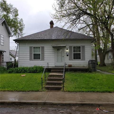 421 Leeds Avenue, Indianapolis, IN 46201 (MLS #21754387) :: Mike Price Realty Team - RE/MAX Centerstone