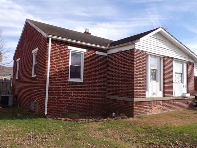 438 Lee Boulevard, Seymour, IN 47274 (MLS #21754399) :: The ORR Home Selling Team