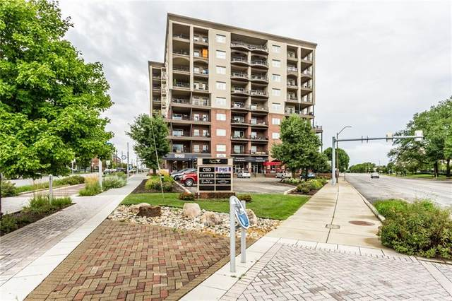 435 Virginia Avenue #805, Indianapolis, IN 46203 (MLS #21754492) :: The Indy Property Source