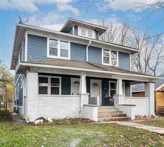 611 N Chester Avenue, Indianapolis, IN 46201 (MLS #21754493) :: Realty ONE Group Dream