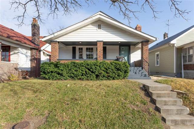811 Wallace Avenue, Indianapolis, IN 46201 (MLS #21754522) :: The Evelo Team