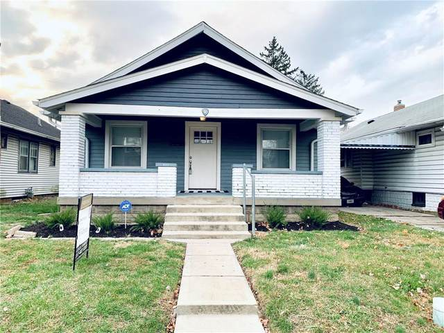 916 N Grant Avenue, Indianapolis, IN 46201 (MLS #21754526) :: Ferris Property Group