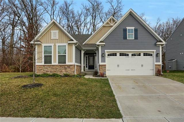 527 Dietz Drive, Greenwood, IN 46143 (MLS #21754575) :: The ORR Home Selling Team