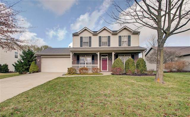 10022 Palmaire Place, Fishers, IN 46038 (MLS #21754630) :: The ORR Home Selling Team