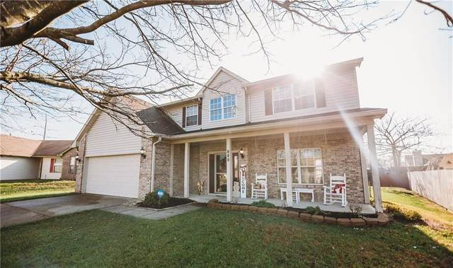 889 Queensgate Drive, Greenwood, IN 46143 (MLS #21754644) :: The ORR Home Selling Team