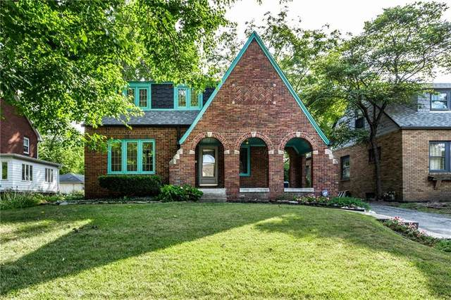 5505 N Illinois Street, Indianapolis, IN 46208 (MLS #21754695) :: The ORR Home Selling Team