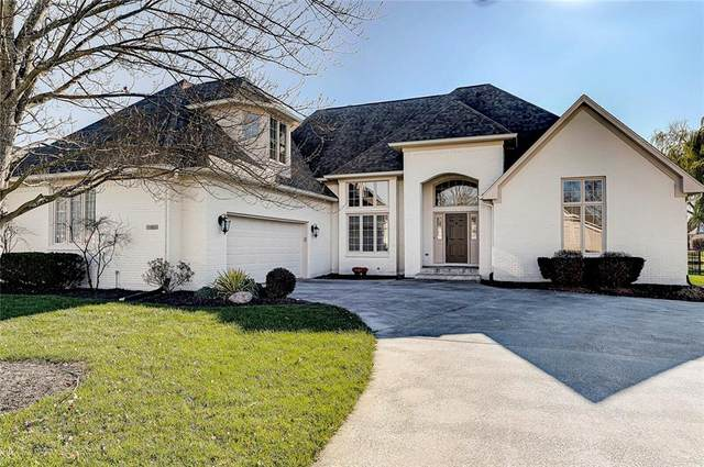 10953 Fairwoods Drive, Fishers, IN 46037 (MLS #21754785) :: Ferris Property Group