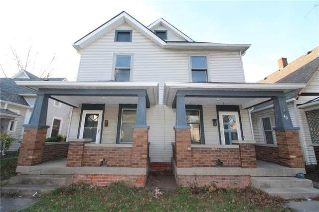 42 S Holmes Avenue, Indianapolis, IN 46222 (MLS #21754786) :: The Evelo Team