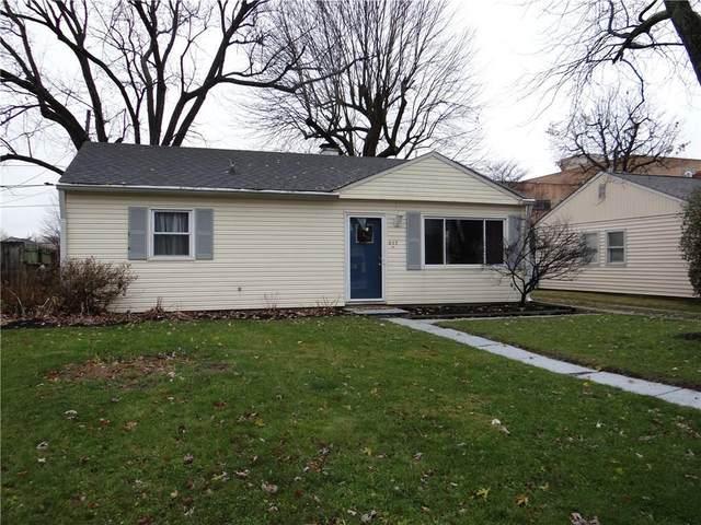 205 Allen Lane, Greenfield, IN 46140 (MLS #21755005) :: The ORR Home Selling Team