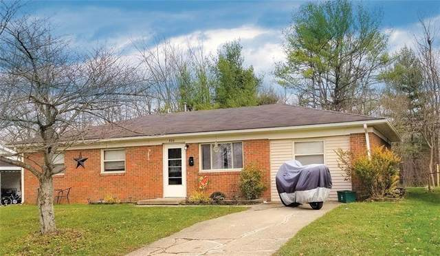 800 Crescent Drive, Greencastle, IN 46135 (MLS #21755007) :: The ORR Home Selling Team