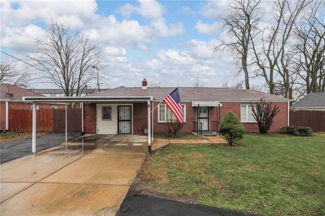 7213 E 10th Street, Indianapolis, IN 46219 (MLS #21755122) :: RE/MAX Legacy