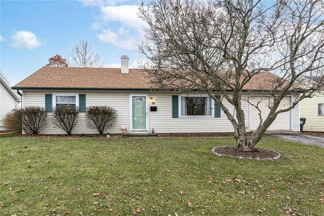 34 Sayre Drive, Greenwood, IN 46143 (MLS #21755164) :: Mike Price Realty Team - RE/MAX Centerstone