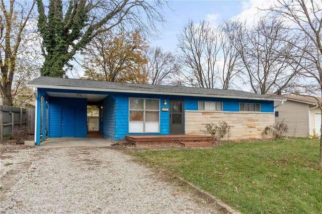 2144 Newcomer Lane, Beech Grove, IN 46107 (MLS #21755220) :: The Indy Property Source