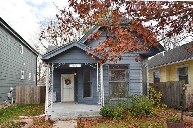 1421 Olive Street, Indianapolis, IN 46203 (MLS #21755235) :: Corbett & Company