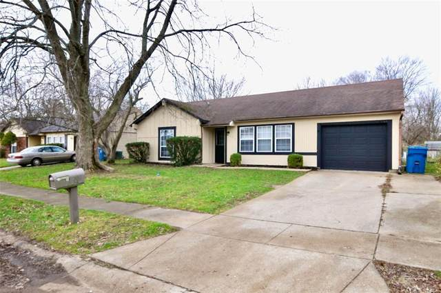 4314 Dabny Drive, Indianapolis, IN 46254 (MLS #21755387) :: The Evelo Team
