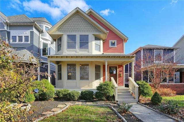 1527 N Carrollton Avenue, Indianapolis, IN 46202 (MLS #21755470) :: Corbett & Company