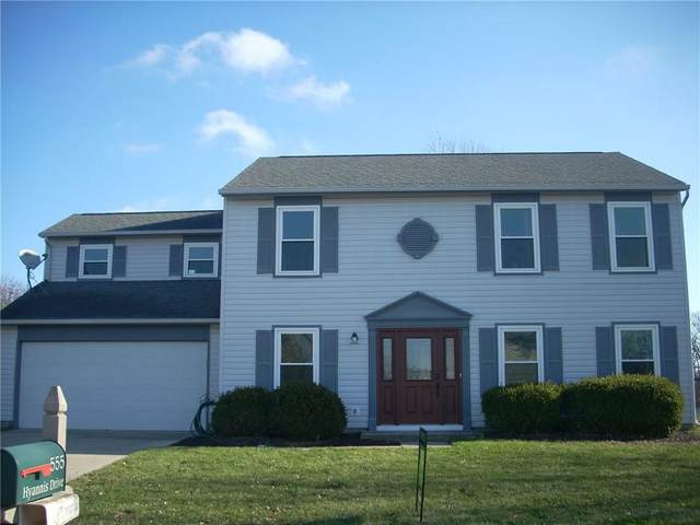555 Hyannis Drive, Avon, IN 46123 (MLS #21755558) :: Realty ONE Group Dream