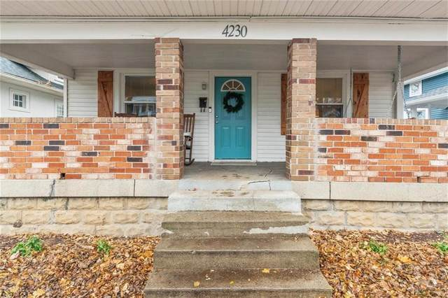 4230 Guilford Avenue, Indianapolis, IN 46205 (MLS #21755581) :: The Evelo Team