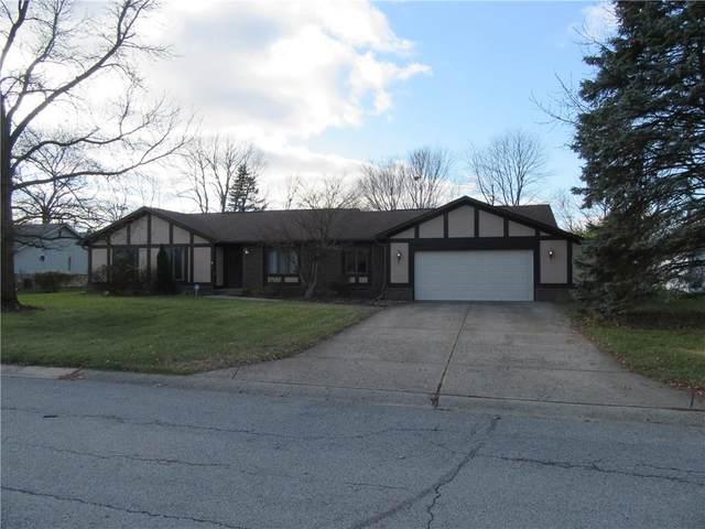 871 Granada Drive, Greenwood, IN 46143 (MLS #21755615) :: Dean Wagner Realtors