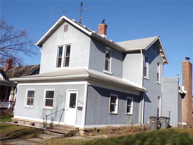 417 E 4th Street, Seymour, IN 47274 (MLS #21755621) :: The ORR Home Selling Team
