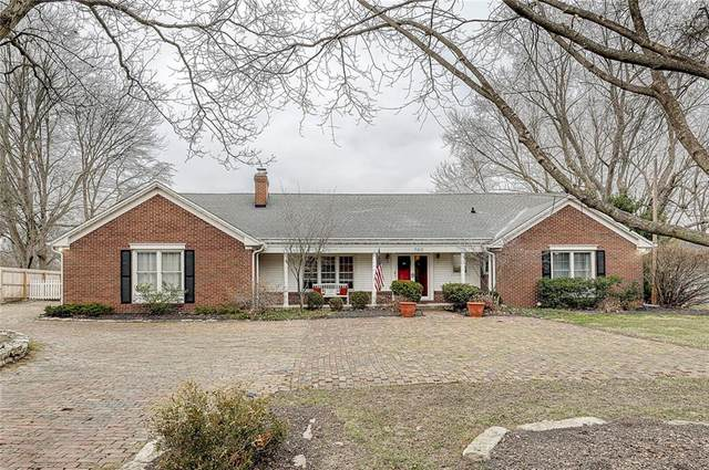 560 Wellington Road, Indianapolis, IN 46260 (MLS #21755702) :: The Indy Property Source
