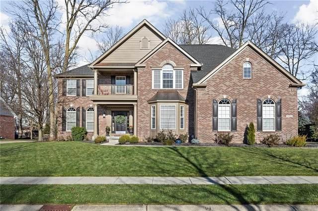 6004 Clearview Drive, Carmel, IN 46033 (MLS #21755915) :: Ferris Property Group