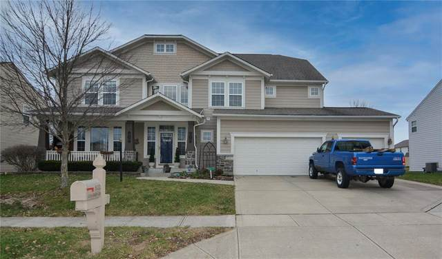 8132 Grassy Meadow Lane, Indianapolis, IN 46259 (MLS #21755923) :: The ORR Home Selling Team