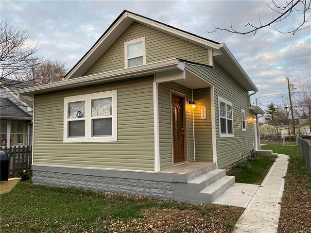 921 N Somerset, Indianapolis, IN 46222 (MLS #21755927) :: AR/haus Group Realty