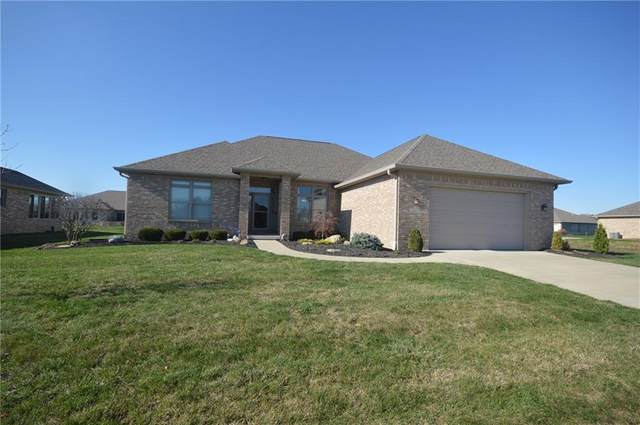 3836 Mansfield Drive, Brownsburg, IN 46112 (MLS #21755935) :: The Evelo Team