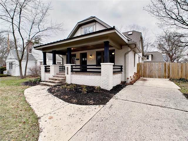 5810 N College Avenue, Indianapolis, IN 46220 (MLS #21755974) :: The Indy Property Source