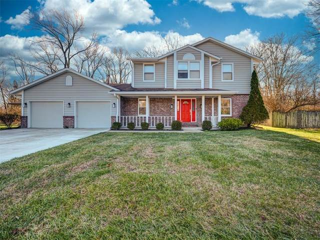 4319 Ansar Lane, Indianapolis, IN 46254 (MLS #21755984) :: The Evelo Team