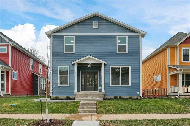 621 N Hamilton Avenue, Indianapolis, IN 46201 (MLS #21756098) :: Corbett & Company