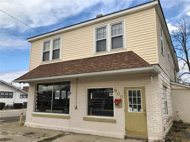 800 Main Street, Elwood, IN 46036 (MLS #21756129) :: The Evelo Team