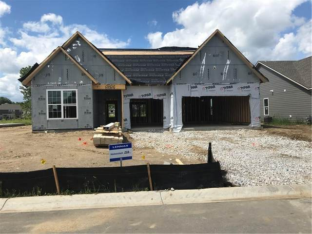 3860 Napier Road, Bargersville, IN 46106 (MLS #21756130) :: The Evelo Team