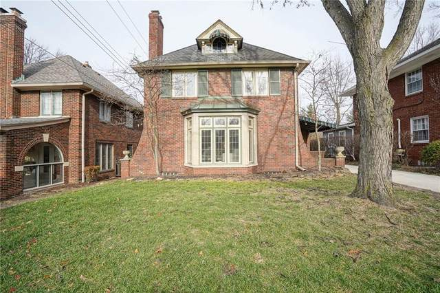 34 E 55th Street, Indianapolis, IN 46220 (MLS #21756218) :: Mike Price Realty Team - RE/MAX Centerstone