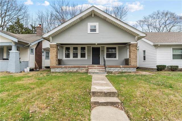 3719 Graceland Avenue, Indianapolis, IN 46208 (MLS #21756274) :: The Evelo Team